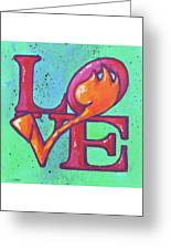 Love Tulips Greeting Card