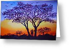 Love Under The Tree Greeting Card