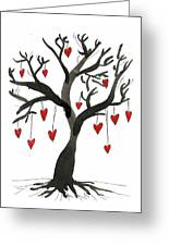 Love Will Grow Greeting Card by Sarah Benning