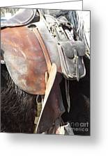 Loved Leather Tack Greeting Card
