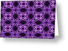 Lovely As A Purple Thought Greeting Card