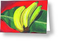Lovely Bunch Of Bananas Greeting Card