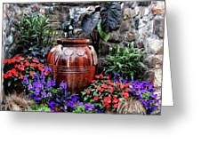 Lovely Garden  Greeting Card