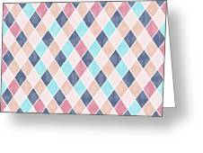Lovely Geometric Pattern Vi Greeting Card