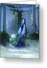 Lovely Is The Night Greeting Card by Melissa Krauss