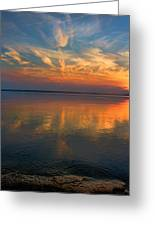 Lovely Lakeside View Greeting Card