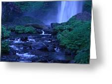 Lovely Latourell Falls Greeting Card