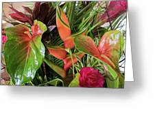 Lovely Leaves Greeting Card