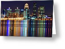 Lovely Louisville Lights Greeting Card