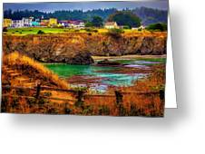 Lovely Mendocino Greeting Card