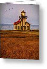 Lovely Point Cabrillo Light Station Greeting Card