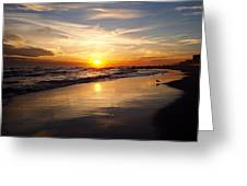 Lovely Sunset Greeting Card