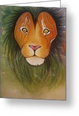 Lovelylion Greeting Card