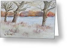 Lovers' Lake Greeting Card