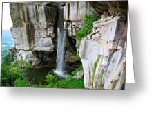 Lover's Leap Waterfall Greeting Card