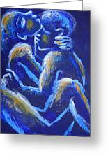 Lovers - Night Of Passion 4 Greeting Card