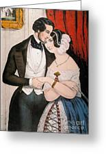 Lovers Reconciliation Greeting Card