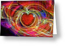 Love's Joy Greeting Card by Michael Durst