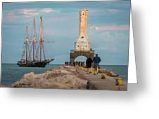 Loving Port Greeting Card