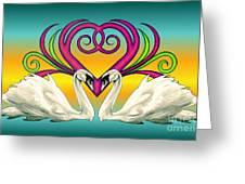Loving Souls Greeting Card
