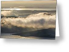 Low Hanging Clouds Greeting Card