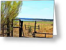 Low Land By The Lake Greeting Card