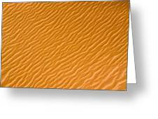 Low Rippling Dunes In The Northern Greeting Card