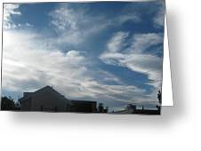 Low Sky Greeting Card