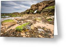 Low Tide At Saddle Rocks Greeting Card