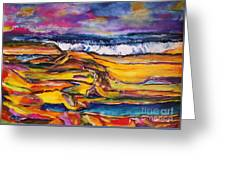 Low Tide Greeting Card by Chaline Ouellet