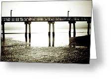 Low Tide Extreme Greeting Card