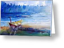 Low Tide II Greeting Card