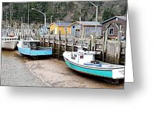 Low Tide In St. Martins Greeting Card