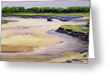 Low Tide Parsons Greeting Card