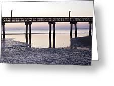 Low Tide Reflected Gp Greeting Card