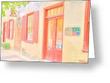 Lowcountry Catfish Row Greeting Card
