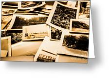 Lowdown On A Vintage Photo Collections Greeting Card