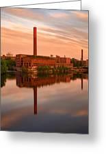 Lowell Skyline  Greeting Card
