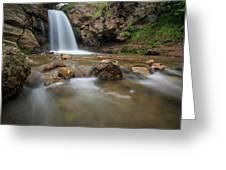 Lower Adams Canyon Falls Greeting Card