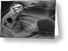 Lower Antelope Canyon 2 7843 Greeting Card