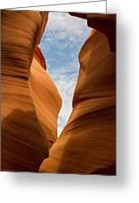 Lower Antelope Slot Canyon, Page, Arizona Greeting Card