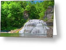 Lower Falls 0485 Greeting Card