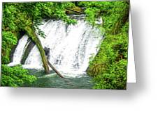 Lower Falls 4 Greeting Card