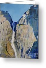 Lower Falls, Yosemite Greeting Card