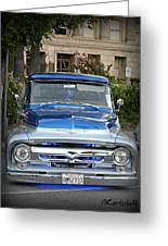 Lower Ford Truck Greeting Card