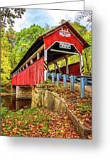 Lower Humbert Covered Bridge 2 Greeting Card