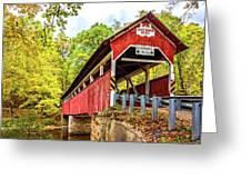 Lower Humbert Covered Bridge 3 Greeting Card