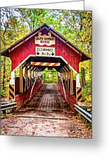 Lower Humbert Covered Bridge 5 Greeting Card