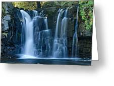 Lower Johnson Falls 2 Greeting Card by Larry Ricker