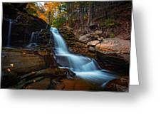 Lower Kaaterskill Falls Greeting Card